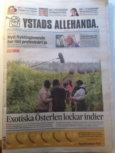 Exotic Österlen attracts Indians